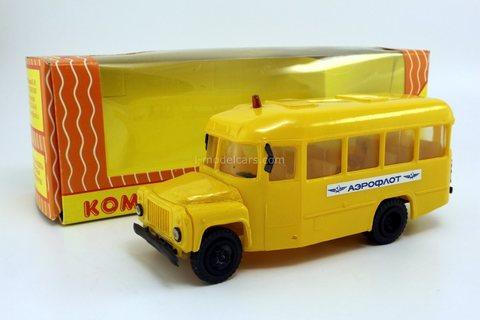 KAVZ-3270 airport bus Aeroflot (early version) Kompanion 1:43