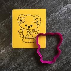 Мишка девочка №2