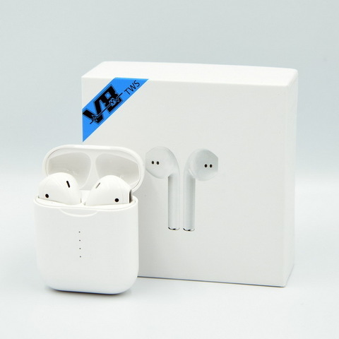 Наушники Bluetooth BT V8 TWS с кейсом white