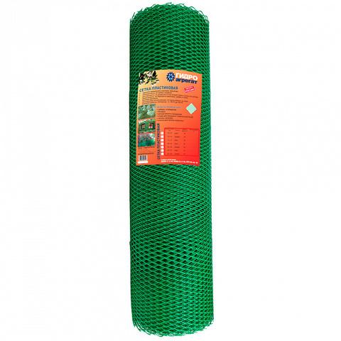 Купить пластиковую садовую сетку гидроагрегат 40x40мм, 1.5x20м в Москве, Домодедово, Обнинске, Калуге недорого
