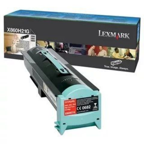 Тонер-картридж для принтеров Lexmark X860, X862, X864 черный (black). Ресурс 35000 стр (X860H21G)