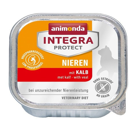 Animonda Integra Protect Cat (ламистер) Nieren (RENAL) with Veal