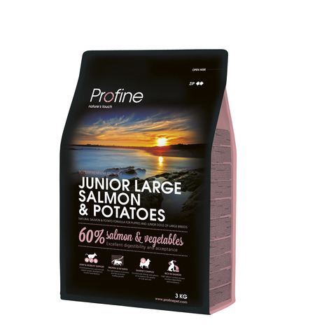 Profine Junior Large Breed Salmon and Potatos 3 kg