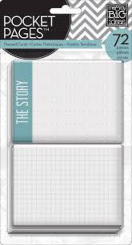 Набор карточек для Project life 72 шт