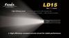 Купить Яркий светодиодный фонарь Fenix LD15 G2 117 люмен (модель 34254) по доступной цене