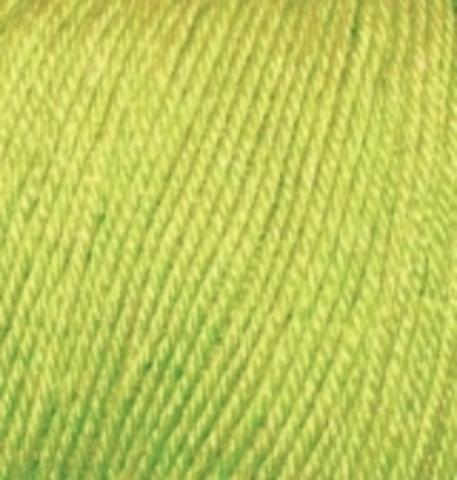 Пряжа Alize Baby Wool фисташка 612