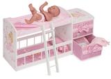 Кроватка для куклы двухъярусная серия Мария, 80 см
