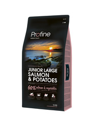 Profine Junior Large Breed Salmon and Potatos 15 kg