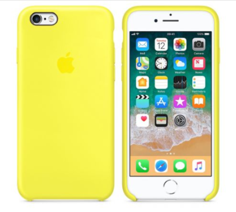 iPhone 6/6s Silicone Case  Лимонный