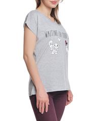 37662-11-2 футболка женская, серая