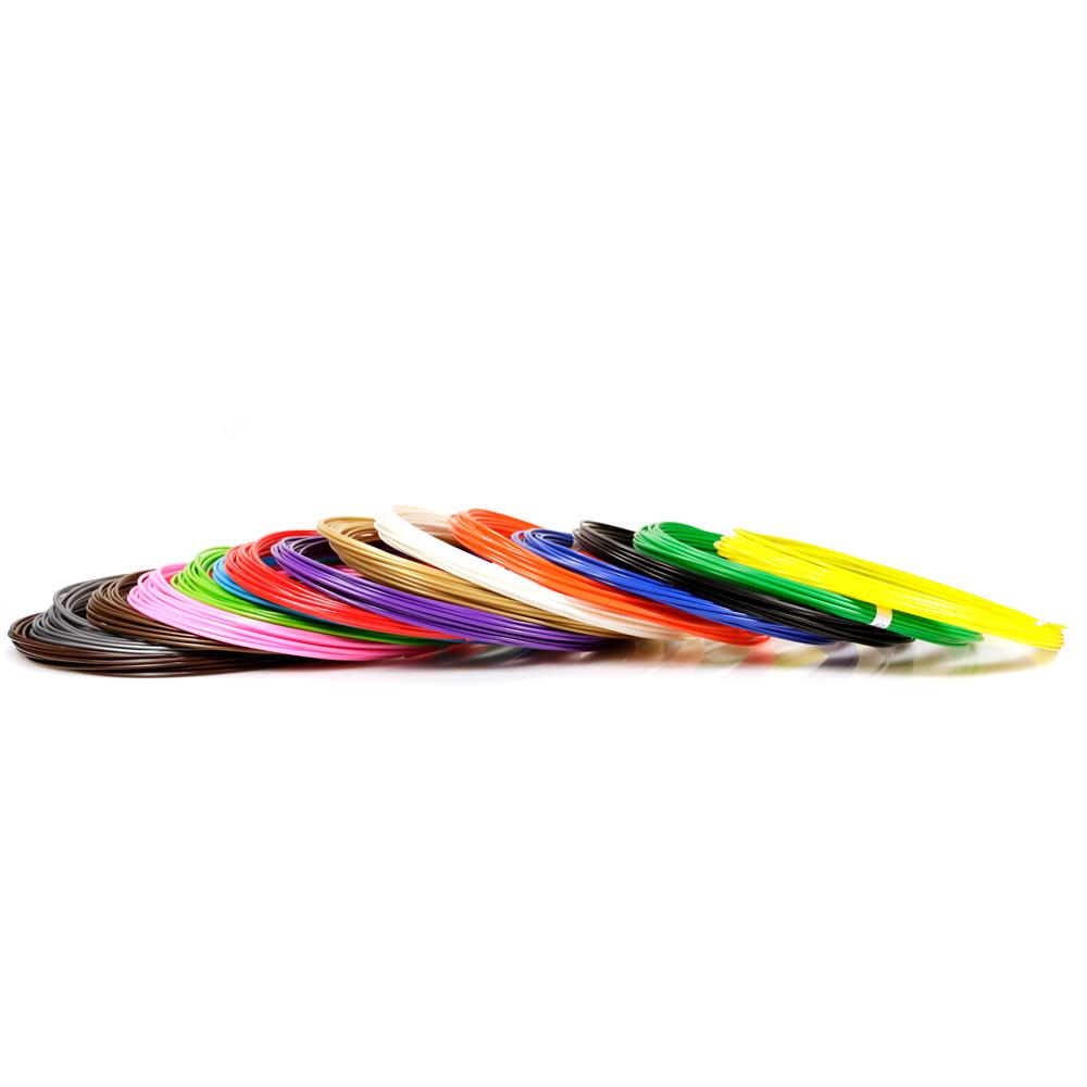 Набор пластика ABS 15 цветов