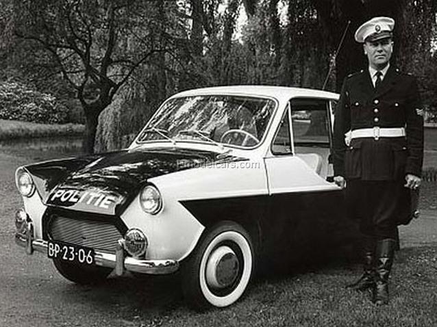 DAF 33 Holland Police 1:43 DeAgostini World's Police Car #78