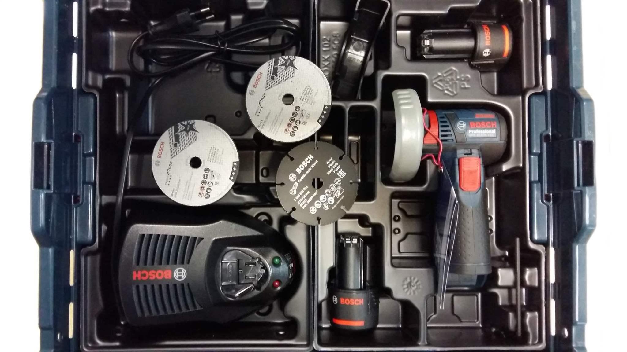 Мини болгарка Bosch GWS 10,8-76 V-EC Professional  Аккумуляторная угловая шлифмашина
