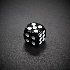 Кубик D6: черный