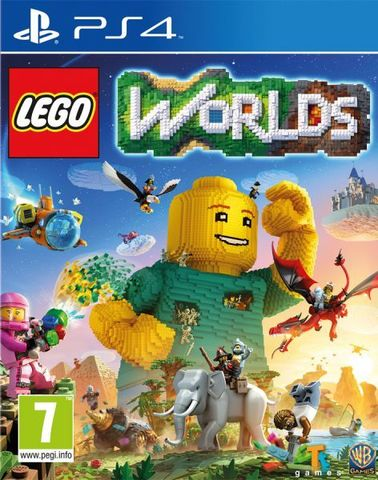 Sony PS4 LEGO Worlds (русская версия)