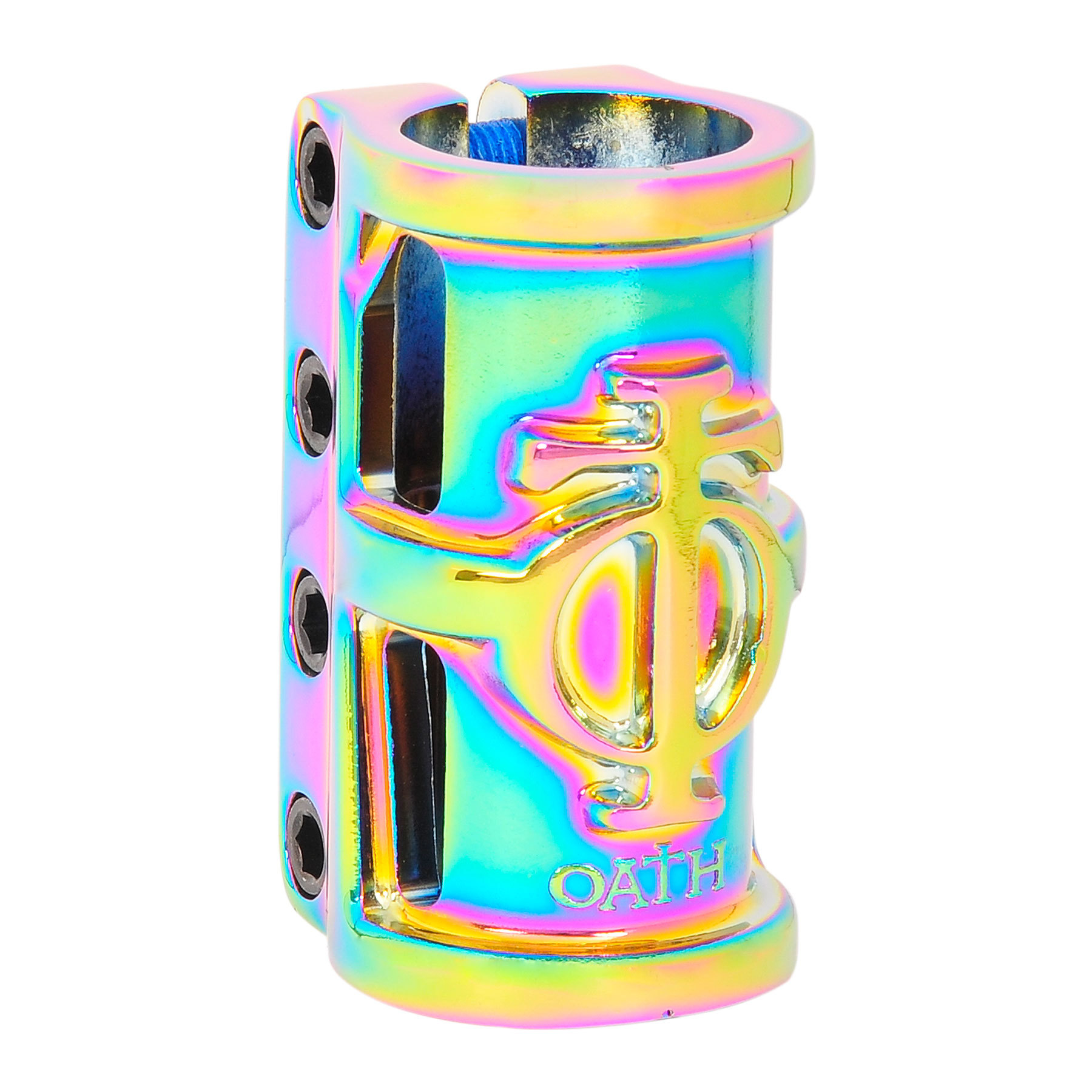 Зажим для самоката OATH Cage SCS Alloy 4-Bolt (Neo Chrome)