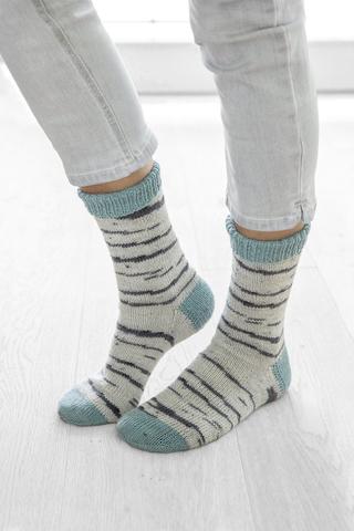 Носочная пряжа Gruendl Hot Socks Simila 102 купить