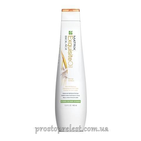 Matrix Biolage Exquisite Oil Micro Oil Shampoo - Шампунь для питания волос