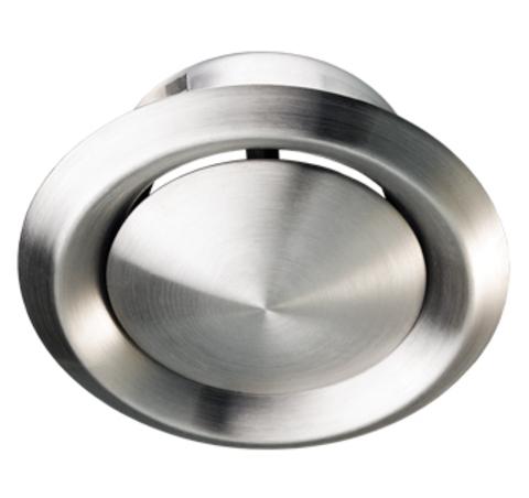Анемостат Вентс 125 нержавеющая сталь
