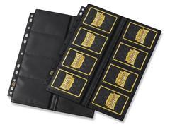 Dragon Shield - лист для альбома 16-Pocket Pages Non-Glare черный