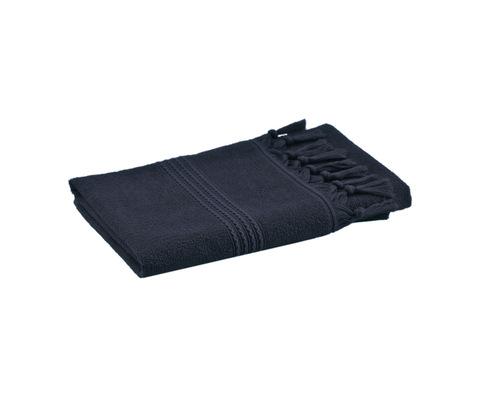 Полотенце 50x100 Hamam Meyzer Tassels синее