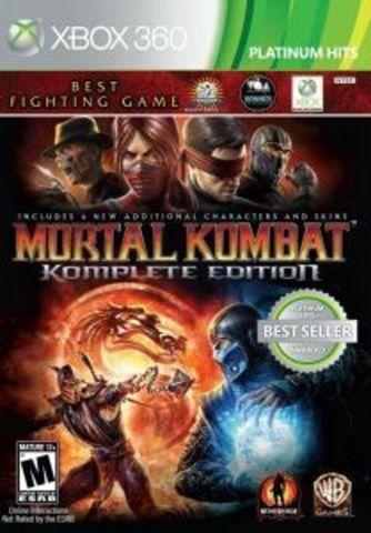 Xbox 360 Mortal Kombat Komplete Edition (английская версия)