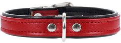 Ошейник для собак Hunter Smart Modern  Аrt 32/11 (24-28,5 см) кожзам красный/черный