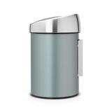 Мусорный бак Brabantia Touch Bin (3л), Мятный металлик, арт. 364402 - превью 2