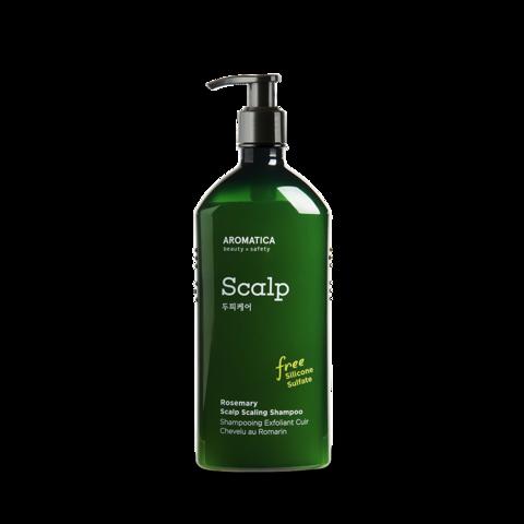 Освежающий и укрепляющий шампунь для волос с розмарином / Aromatica Rosemary Scalp Scaling Shampoo