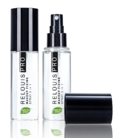 Спрей-фиксатор макияжа RELOUIS PRO Makeup Fixing Spray 3 в1