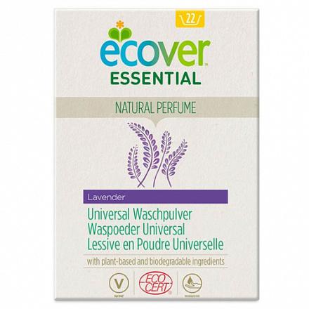 Порошок для стирки универсальный Лаванда Ecover Essential (ECOCERT) 1,2 кг