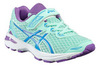 Спортивные кроссовки для девочек Asics (Асикс) GT-1000 5 PS бирюзовые на липучке