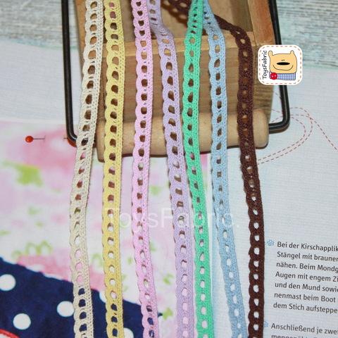 Кружево вязаное СК07-Н (небеленое) 90см