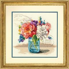 DIMENSIONS Букет из садовых цветов (Garden Bouquet)