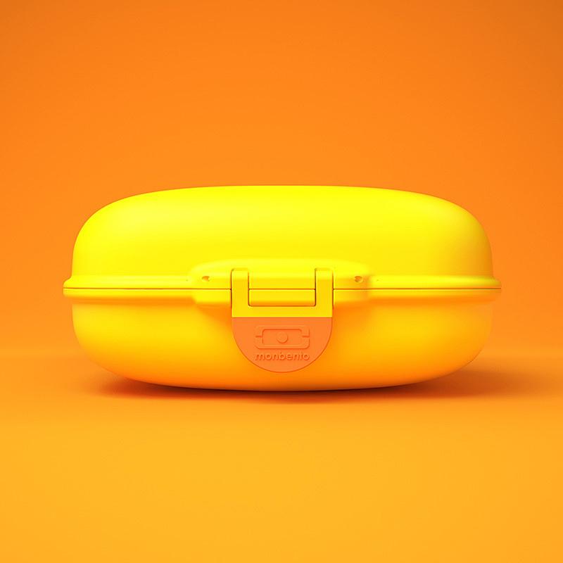 Ланч-бокс Monbento Gram (0,6 литра) банановый