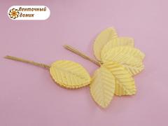 Листья декоративные желтые