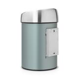 Мусорный бак Brabantia Touch Bin (3л), Мятный металлик, арт. 364402 - превью 3