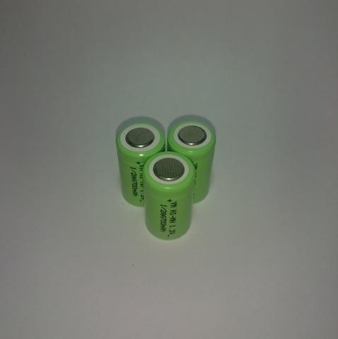 Аккумулятор 1/2AA (ER14250) Ni-Mh 700mAh 1,2V 0,8Wh