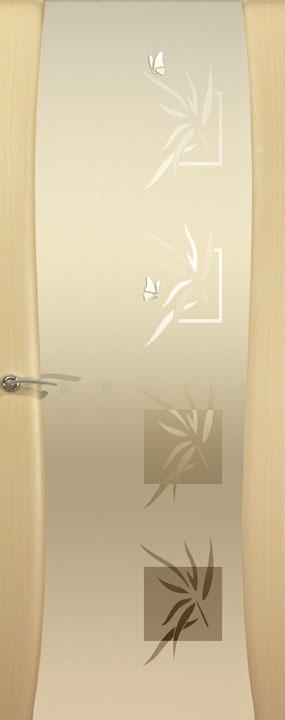 Буревестник-2, Бабочки , Беленый дуб, Дверное полотно, ОКЕАН