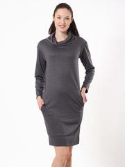 P082-79 платье серое