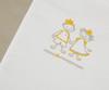 Детское постельное белье German Grass Kinder Peter бело-серое вышивка