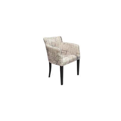 Кресло Kruna (Круна) деревянное  венге