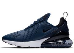 Кроссовки Мужские Nike Air Max 270 Navy/White