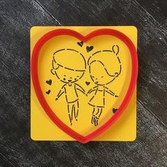 Трафарет любовь №6