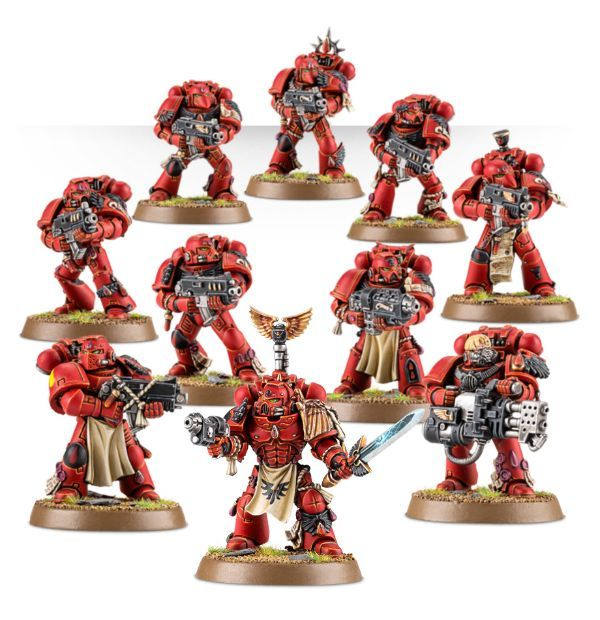 Blood Angels Battleforce. Миниатюры
