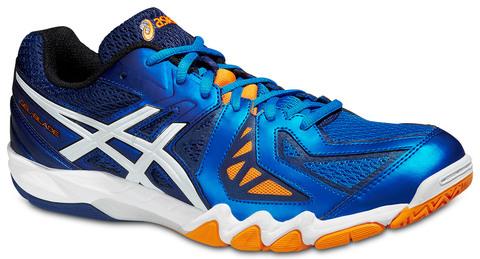 Мужские волейбольные кроссовки Asics Gel-Blade 5 (R506Y 3901) синие фото