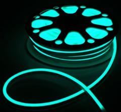 Гибкий неон 8х16 мм, светодиодный | RGB - 25м