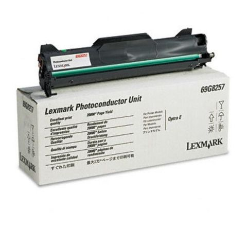 Фотобарабан для принтеров Lexmark E, EP, EF, ES, E2000 черный (black). Ресурс 20000 стр (69G8257)