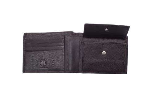 Кожаный бумажник Klondike 1896 «Claim brown» 4 отделения, Germany, фото 5