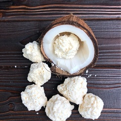 Кокос в белом шоколаде, 250 г